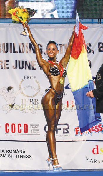 201 Laura Cupsa Campionatul European de bodybuilding, classic bodybuilding, fitness & bodyfitness – Madrid 2011