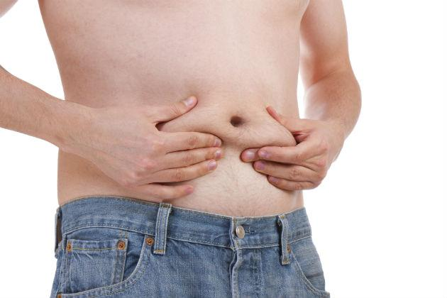 grasimea abdominala Grasimea abdominala, un colac de salvare care te trage la fund...