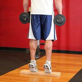 exercitii pentru gambe cu gantera