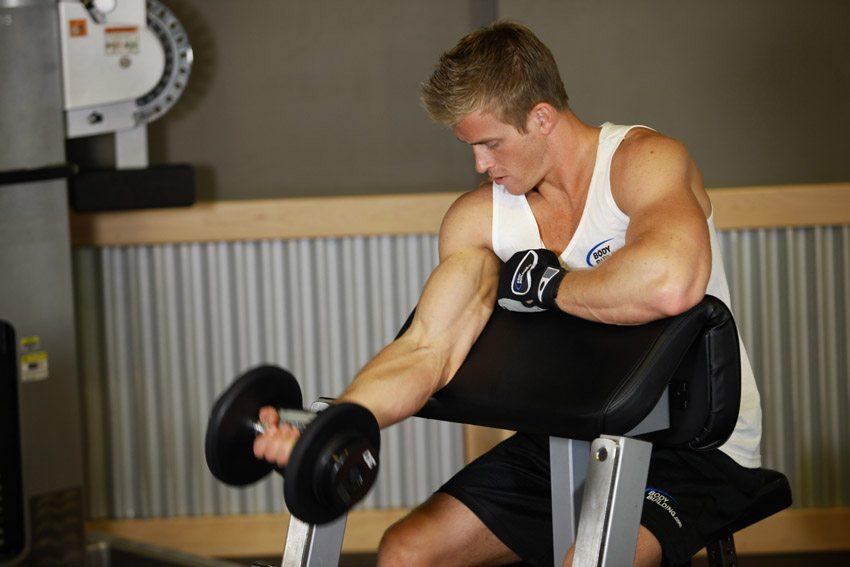 exercitii bicepsi