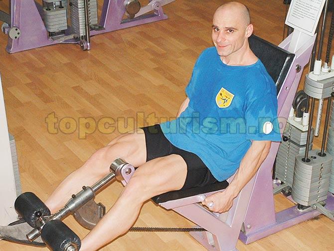 antrenament picioare