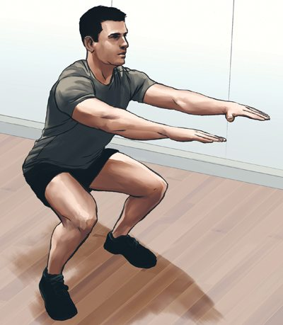 exercitii-izometrice-scaunelul