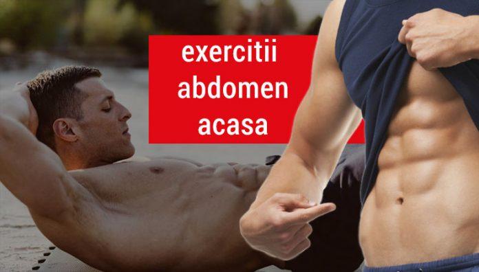 Exercitii pentru abdomen acasa