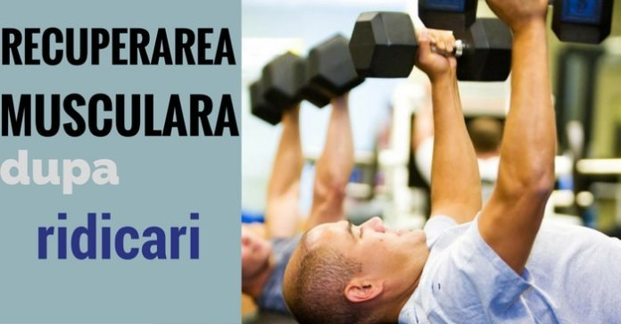 accelerarea recuperarii musculare